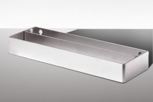 Mensola doccia acciaio boiserie in ceramica per bagno - Mensola acciaio bagno ...